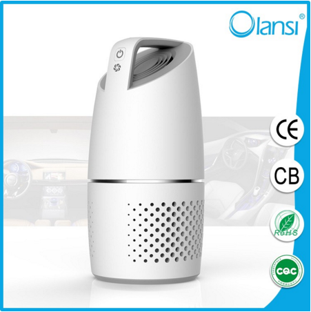 Portable car air cleaner remove dustDesktop hepa mini air purifier