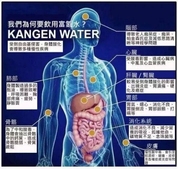 How hydrogen water work