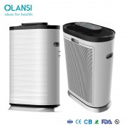 olansi air cleaner with HEPA filter, produces nature fresh air, release negative ion for home and office use, OEM order from BSCI factory