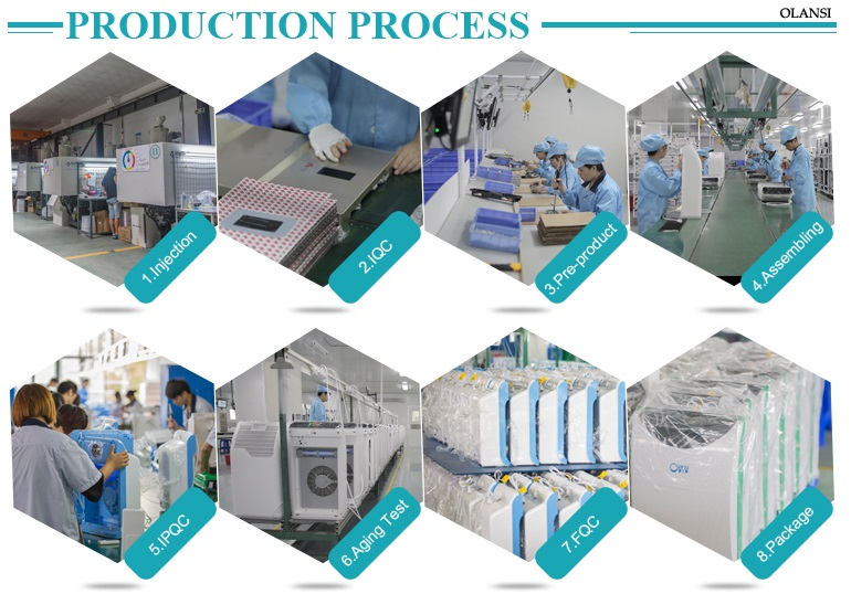 Air purifier production process