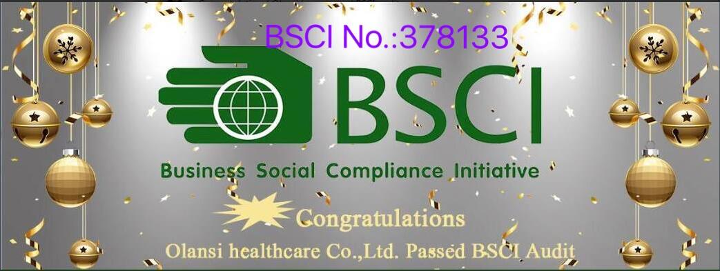 Olansi BSCI certificate