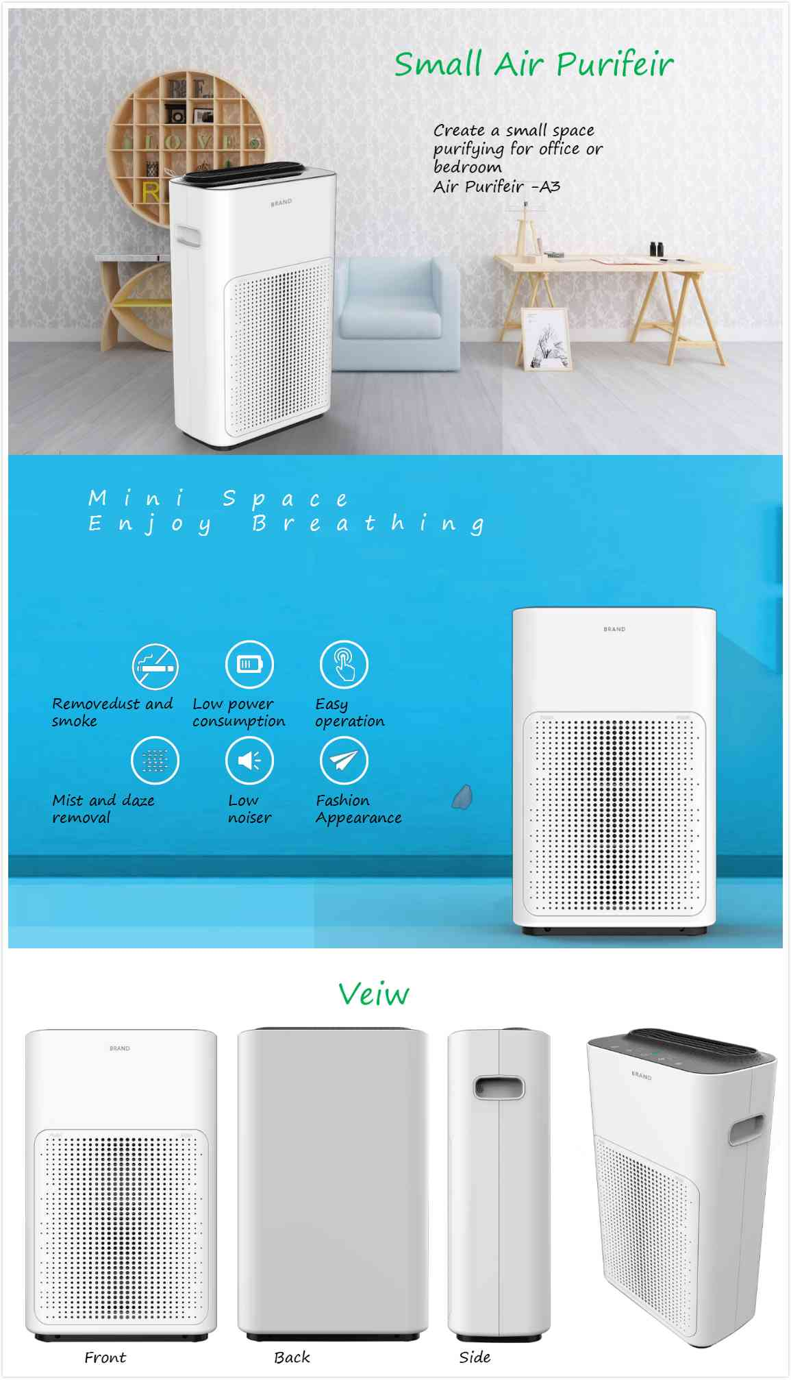 Best Selling Air Purifier In China Olansi Healthcare Co