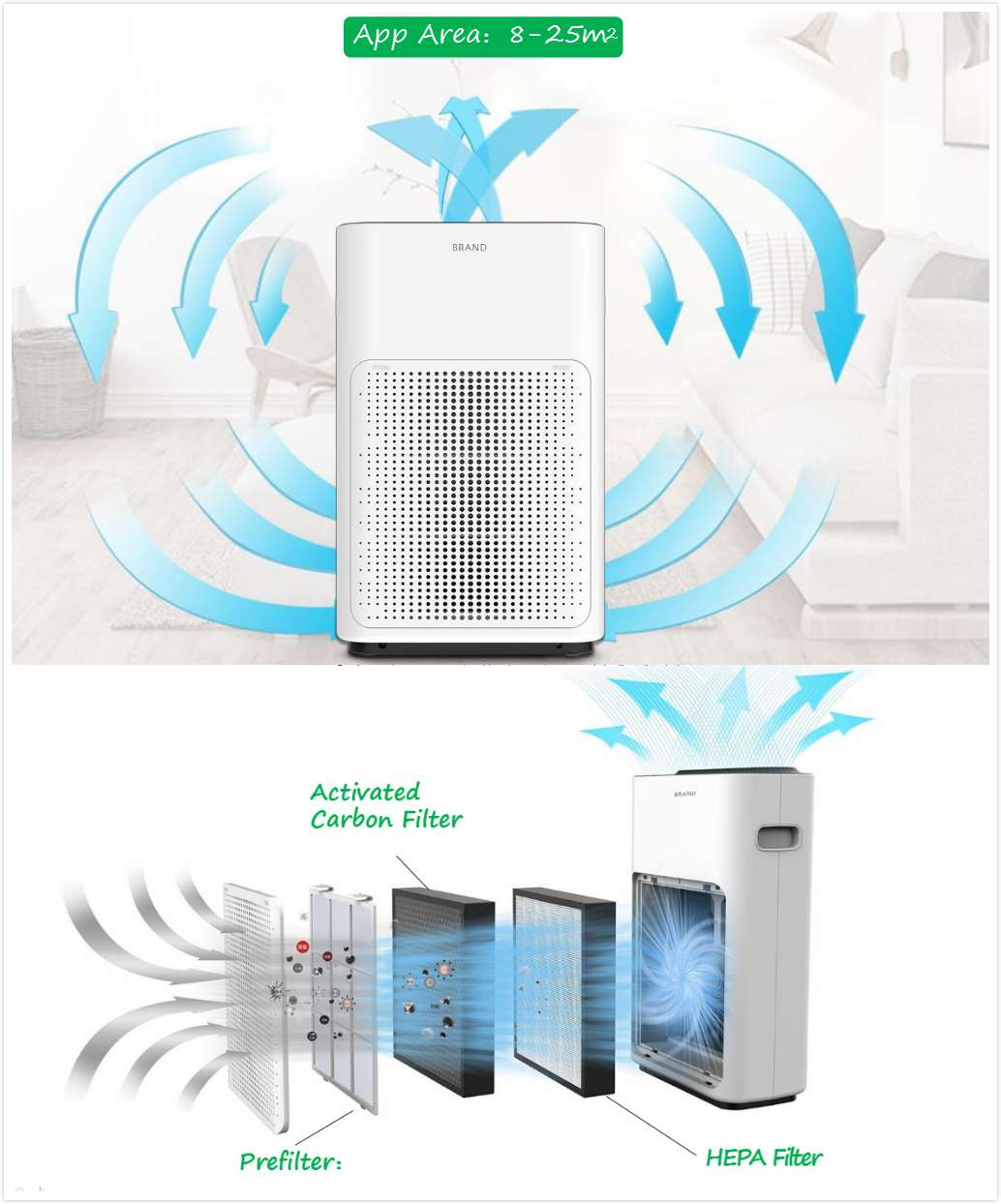 Olansi A3 Air Purifier