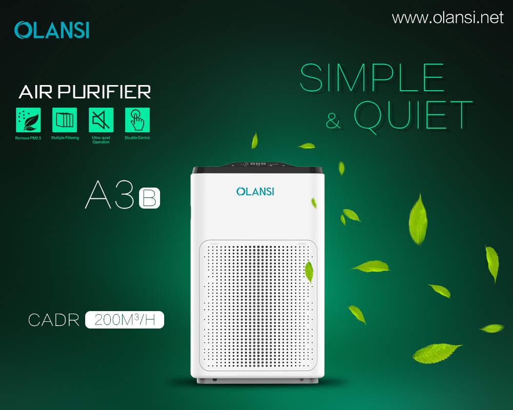 Olansi A3B2 Wifi air purifier