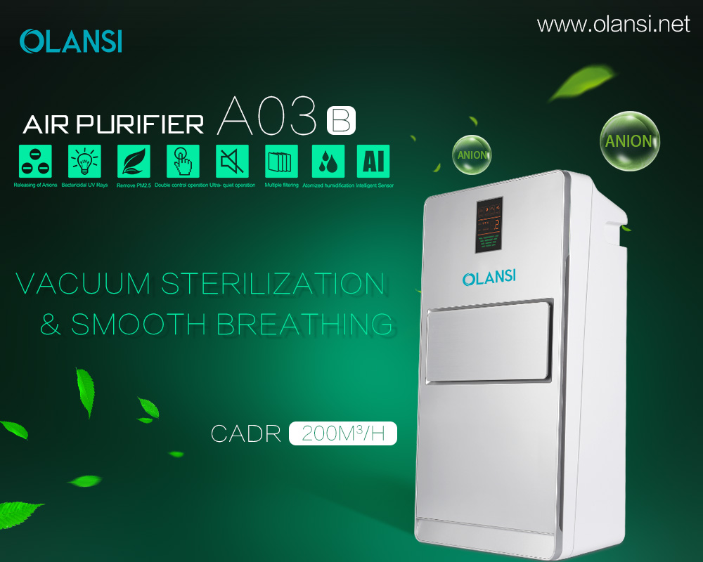 olansi K03B2 home air purifier