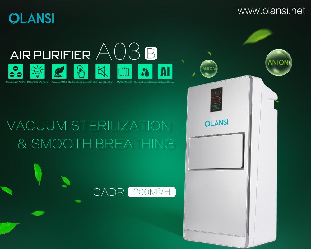 olansi K03B2 home air purifier