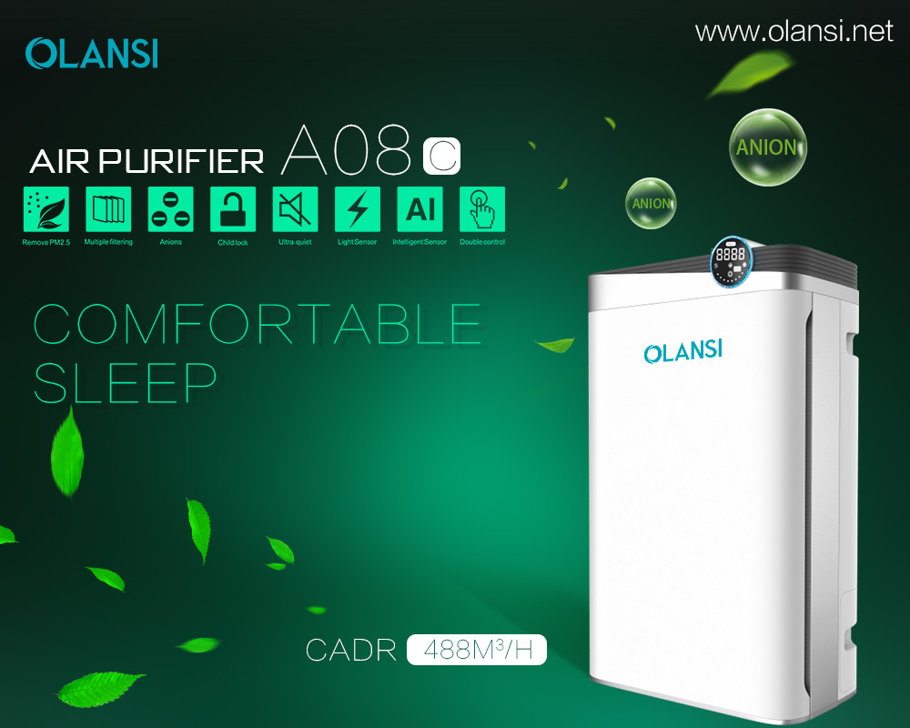 Olansi K08C21 Air Purifier factory