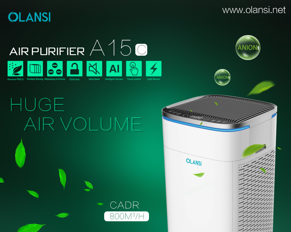 Olansi K15C air purifier 2