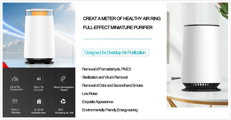 A12 Desktop air purifier