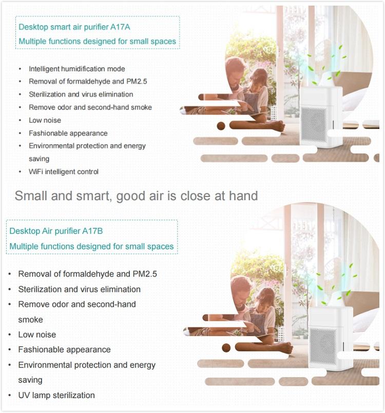 A17 Desktop Air purifier