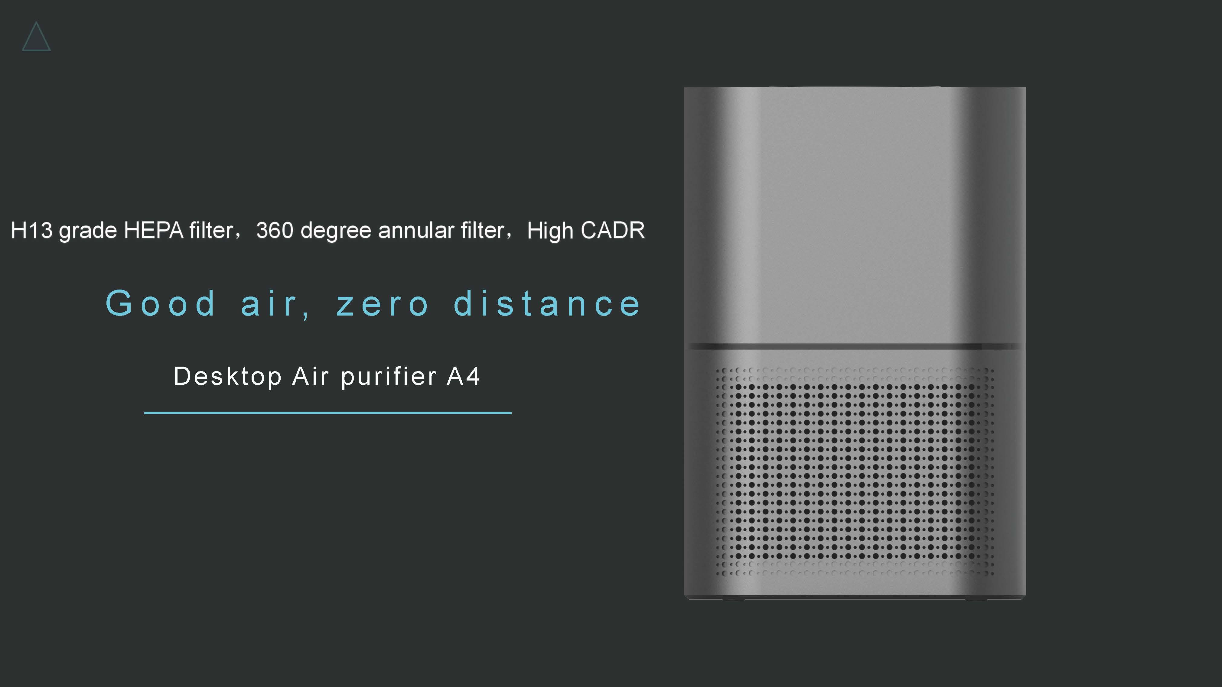 Desktop Air Purifier A4 01